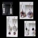 Sterling Cultured Pearl Dangle Earrings