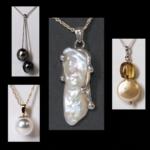 Cultured Pearl Pendants