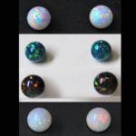 Gillson (Faux) Opal Stud Earrings
